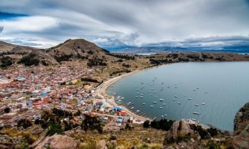 Zdjęcie BOLIWIA / Manco Capac  / Copacabana / Jezioro  Titicaca