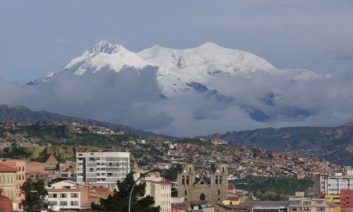Zdjęcie BOLIWIA / La Paz / El Alto / Illimani