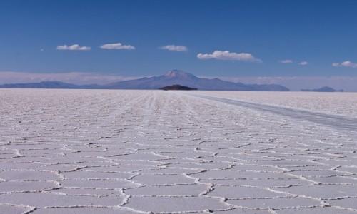 BOLIWIA / Altiplano / Salar de Uyuni  / Na Salarze