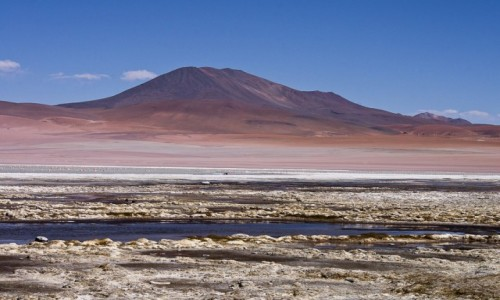 BOLIWIA / Altiplano / / / Boliwijski krajobraz