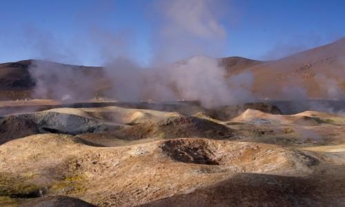 Zdjecie BOLIWIA / Pustynia Atacama / / / Sol de Manana