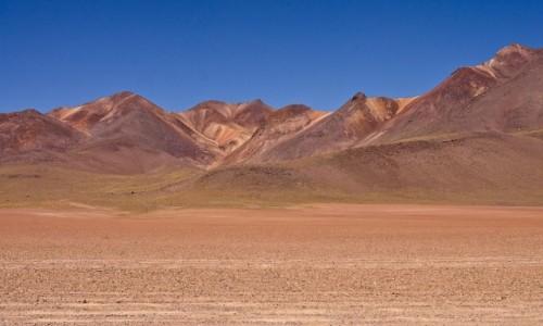Zdjecie BOLIWIA / Pustynia Atacama / / / Kolory Boliwii