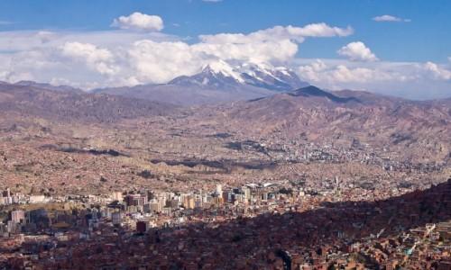 BOLIWIA / La Paz / / / Panorama La Paz