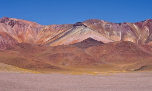 BOLIWIA / Pustynia Atacama / . / Prawie :-) góry tęczowe