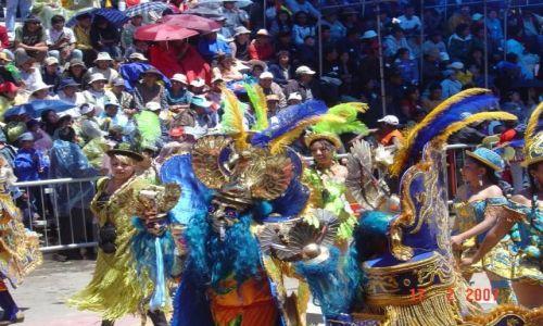 Zdjęcie BOLIWIA / Altiplano / Oruro / Karnawał w Oruro