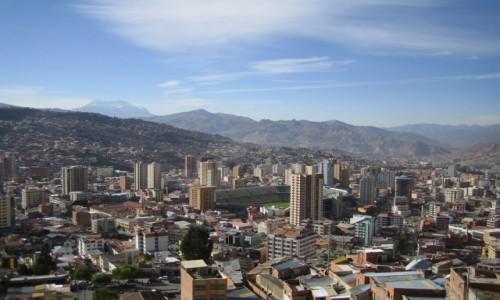 Zdjecie BOLIWIA / La Paz / La Paz / Stadion w La Pa