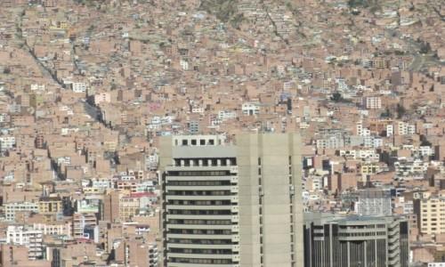 Zdjecie BOLIWIA / La Paz / La Paz / Przeludnienie?