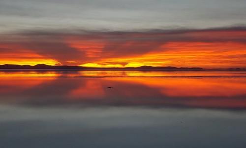 Zdjęcie BOLIWIA / Altiplano-Potosi / Salar de Uyuni / O brzasku