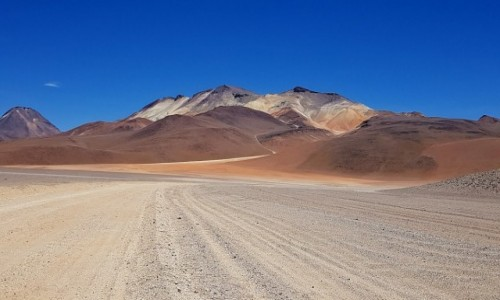 Zdjęcie BOLIWIA / Altiplano-Potosi /  Eduardo Avaroa Andean Fauna National Reserve / Pustynia Salvadora Dali