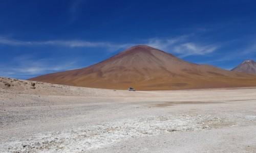 Zdjęcie BOLIWIA / Altiplano-Potosi / droga do Laguna Blanca  / Po bezdrożach
