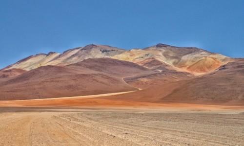 Zdjęcie BOLIWIA / Altiplano-Potosi / PN Eduardo Avaroa Andean Fauna National Reserve / Prawie tęczowe :)