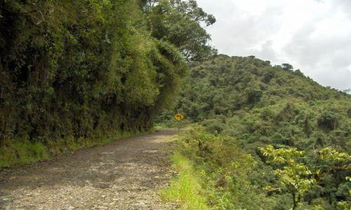 Zdjecie BOLIWIA / La Paz / Coroico / Najniebezpieczniejsza droga świata