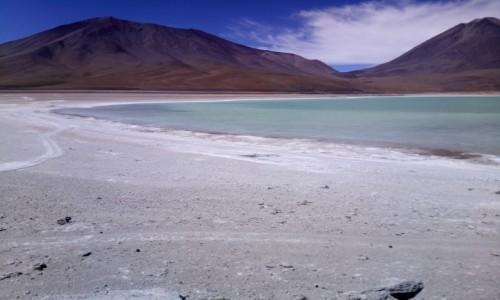 Zdjecie BOLIWIA / Reserva Nacional de Fauna Andina Eduardo Avaroa / Laguna Verde 4300m.n.p.m. / CHILE I BOLIWIA - SAMOTNIE I INTENSYWNIE