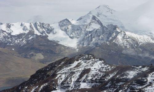 Zdjecie BOLIWIA / oklolice La Paz / Chacaltaya powyżej 5 tys. m.npm / w góry Boliwii