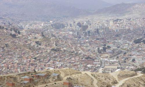 Zdjecie BOLIWIA / La Paz / La Paz  / gdzieś wysoko w górach