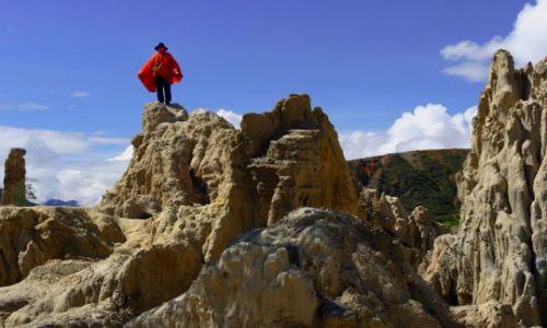 Zdjecie BOLIWIA / brak / LA PAZ :Dolina księżyowa: / fotka 4