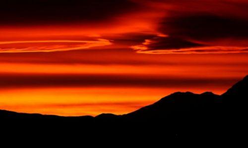 Zdjecie BOLIWIA / Boliwia / Na zachód od Uyuni / Zachód słońca