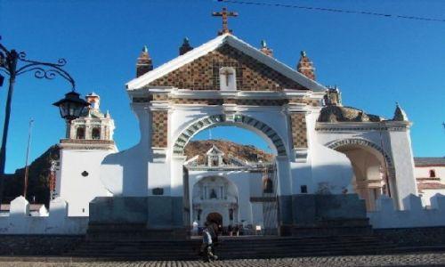 Zdjecie BOLIWIA / Altiplano / Jezioro Titicaca / Katedra w Copacabanie