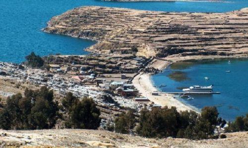 Zdjęcie BOLIWIA / Altiplano / Jezioro Titicaca / Challapampa - Isla del Sol