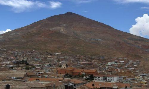 Zdjęcie BOLIWIA / Potosi / Potosi / Cerro Rico