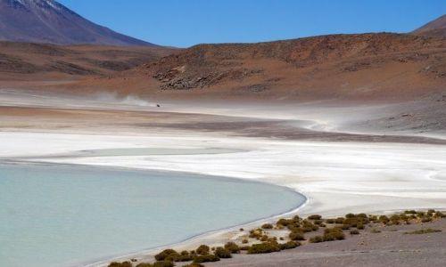 Zdjęcie BOLIWIA / Salar de Uyuni / Laguna - nie pamiętam nazwy / Laguna