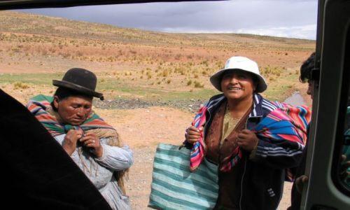 Zdjęcie BOLIWIA / Altiplano / w drodze do La Paz / ...zmieśvcimy się jeszcze???