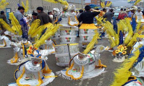 Zdjęcie BOLIWIA / La Paz / przedmieścia La Paz / ... c.d przygotowań