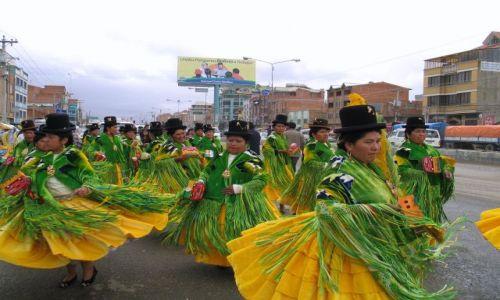 Zdjęcie BOLIWIA / La PAz / przedmieścia La Paz / ...no i się zaczęło :d