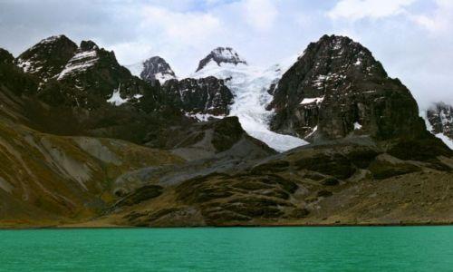 Zdjecie BOLIWIA / Cordillera Real / u podnórza Condoriri / zdobycie Condor
