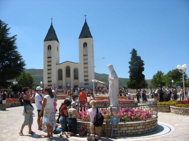 Zdjęcia: Medjugorje, Kościół św. Jakuba, BOśNIA