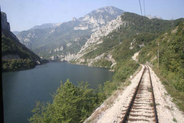 Zdjęcia: Trasa Mostar-Sarajevo, Z ostatniego wagonu, BOśNIA