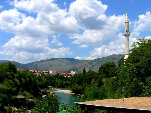Zdjęcia: Mostar, miasto #2, BOśNIA i HERCEGOWINA