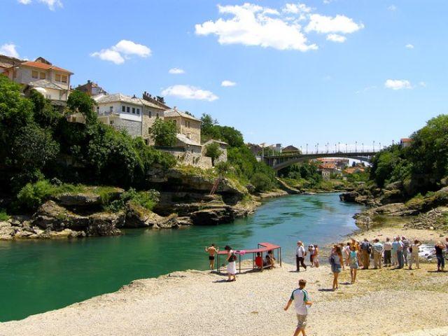 Zdjęcia: Mostar, widoczek, BOśNIA