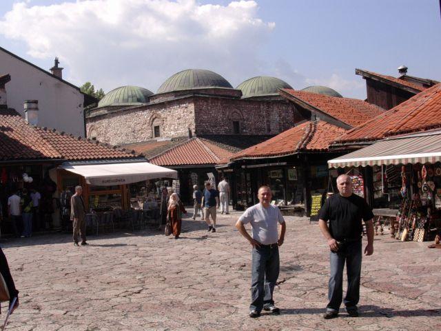 Zdj�cia: Sarajewo, Bo�nia, Stare Miasto-Sarajewo, BO�NIA
