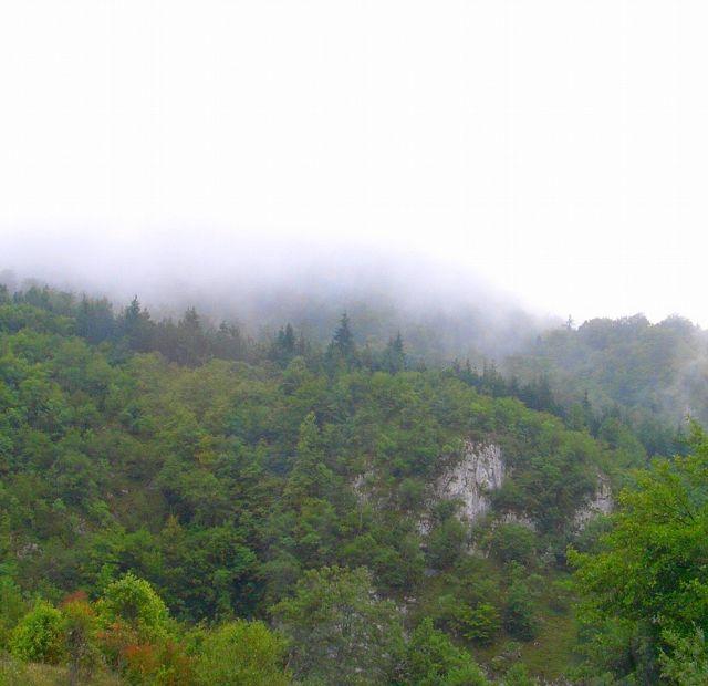Zdjęcia: W drodze do Sarajewa, Bośnia, Poranne mgły, BOśNIA
