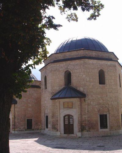 Zdjęcia: Sarajewo, Bośnia, Dziedziniec, BOśNIA i HERCEGOWINA