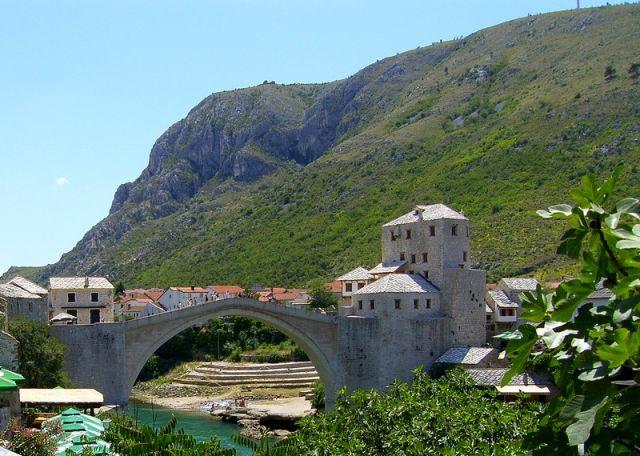 Zdjęcia: Most, Mostar, twierdza, BOśNIA