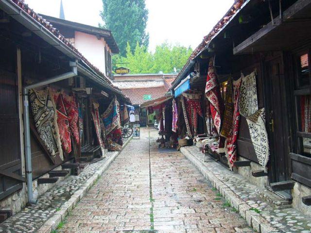 Zdjęcia: Sarajevo, Bazar w Sarajevie, BOśNIA