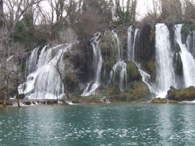 Zdj�cia: Kravice, Medugorje, wodospad Kravice, BO�NIA