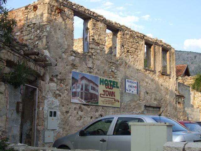 Zdjęcia: Mostar, Mostar, hotelik, BOśNIA