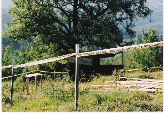 Zdjęcia: Bośnia, Pole minowe, BOśNIA i HERCEGOWINA