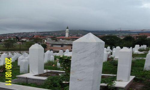 Zdjecie BOśNIA i HERCEGOWINA / - / Sarajewo / Cmentarz muzułmański w Sarajewie