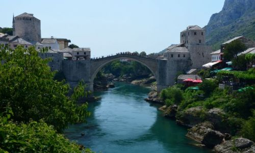 Zdjecie BOśNIA i HERCEGOWINA / Bałkany / Mostar / Most