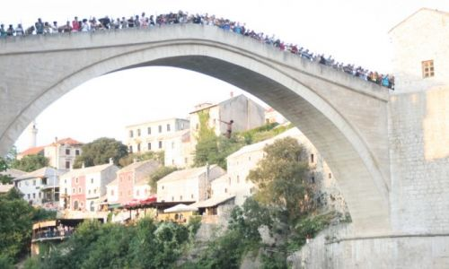 Zdjecie BOśNIA i HERCEGOWINA / Hercegowina / Mostar  / Ikar Mostaru