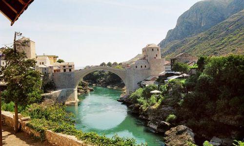 BOśNIA i HERCEGOWINA / Bośnia i Hercegowina / Mostar / Krótki wypad do Mostaru