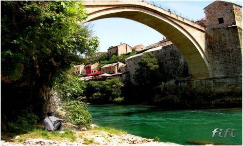 Zdjecie BOśNIA i HERCEGOWINA / brak / Mostar / Miasto mostu
