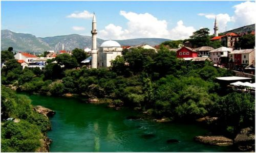 Zdjecie BOśNIA i HERCEGOWINA / brak / Mostar / Muzułmańska strona miasta