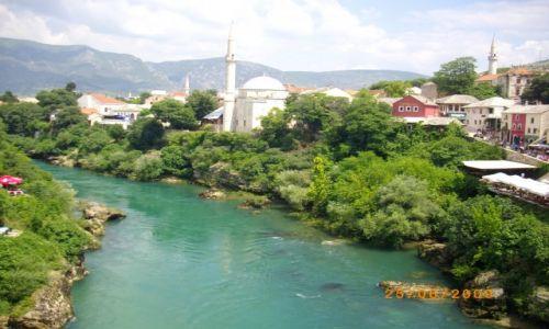 Zdjecie BOśNIA i HERCEGOWINA / brak / Mostar / nad Neretwą