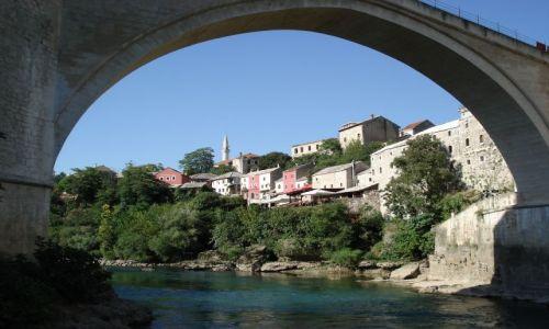 Zdjecie BOśNIA i HERCEGOWINA / Hercegowina / Mostar / Widoki Mostaru