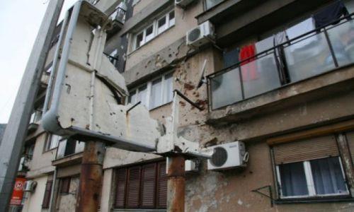 Zdjecie BOśNIA i HERCEGOWINA / - / Mostar / Mostar - zniszczenia wojenne